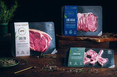 Covap lanza una nueva gama de carne fresca de cerdo ibérico, vacuno y cordero